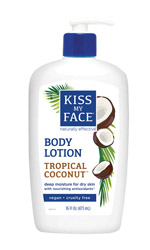 Kiss my face, Body lotion