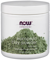 Now Foods, Clay powder