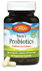 Carlson Labs, Men's Probiotics