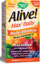 Nature's Way, Alive! Multi-Vitamin