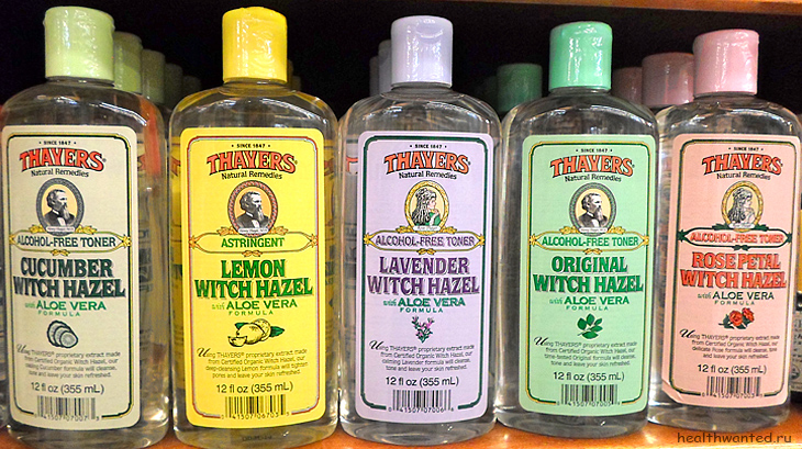 Серия Thayers Witch Hazel